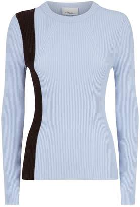 3.1 Phillip Lim Ribbed Wool-Blend Top