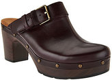 Clarks As Is Artisan Block Heel Clogs - Ledella York