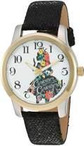 Disney Women's 'Alice in Wonderland' Quartz Metal Automatic Watch, Color: (Model: W002901)