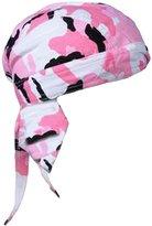 Buy Caps and Hats Pink Camouflage Doo Rag Skull Cap Womens Camo Durag Bandana Chemo Head Wrap