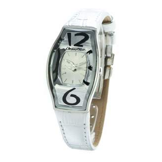 Chronotech Womens Analogue Quartz Watch with Leather Strap CT7932L-52