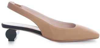 Anna Baiguera Pointed Sandals W/particoular Heel 3 Cm