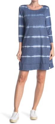 MSK Cinched Sleeve High-Low Dress