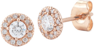 Nephora 14K Rose Gold 0.30 Ct. Tw. Diamond Studs