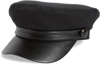 BP Faux Leather Bill Cabbie Cap