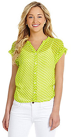 Vince Camuto TWO by Star Dot Shirt