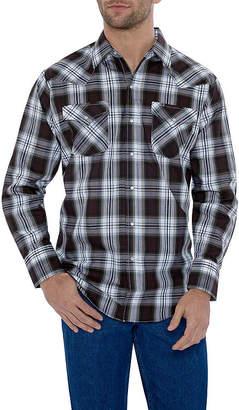 Ely Cattleman Classic Plaid Western Shirt