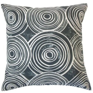 The Pillow Collection Ahuva Geometric Bedding Sham Size: Standard, Color: Kohl