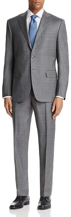Canali Plaid Regular Fit Suit