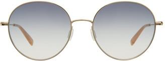 Garrett Leight Valencia Sun Gold-peach Sunglasses