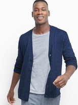 Gap Cotton-linen V-neck cardigan