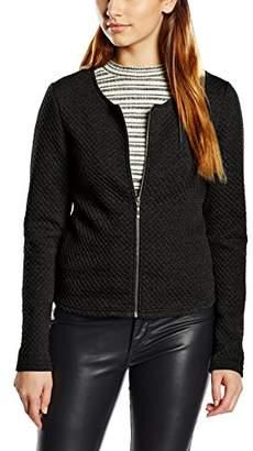 Vila CLOTHES Women's Vinaja New Short Jacket-noos, Green Pine Grove, (Size: X-Large)