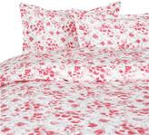 Thumbnail for your product : Melange Home Poppy Watercolor Duvet Set