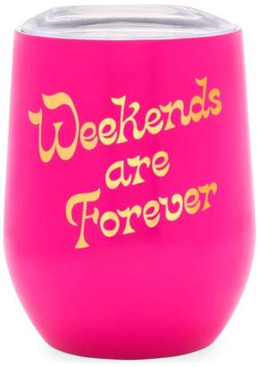 ban.do Weekends Are Forever Wine Glass