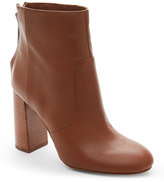 French Connection Tan Capella Chunky Heel Ankle Boots