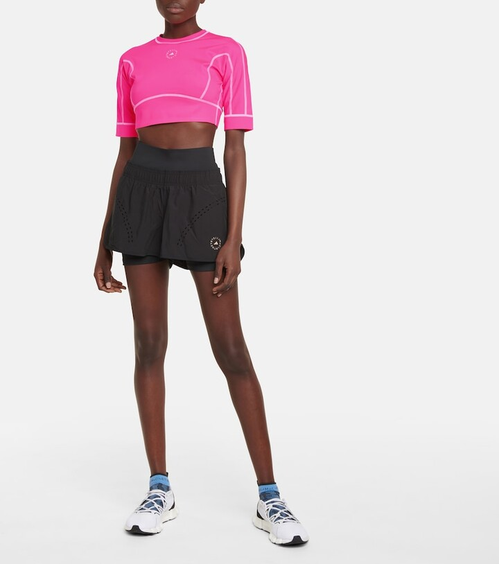 Thumbnail for your product : adidas by Stella McCartney TrueStrength crop top