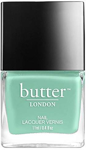 Butter London Nail Lacquer Polish, Soft Teal, 2.05 Oz