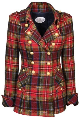 The Extreme Collection Red Checkered Levita Sebastian