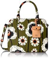 Orla Kiely Textured Vinyl Poppies and Daisies Print Jeanie Bag