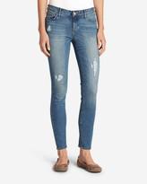 Eddie Bauer Women's Elysian Destroyed Skinny Jeans - Slightly Curvy