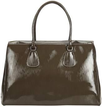 Prada Brown Patent leather Handbags