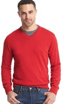 Gap Cotton V-neck sweater