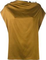 Lanvin strap back blouse