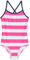 Kanu Surf 1-Pc. Layla Striped Swimsuit, Toddler & Little Girls (2T-6X)