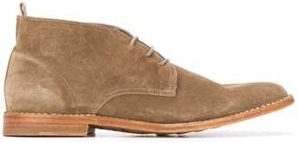 Officine Creative Steple lace-up desert boots