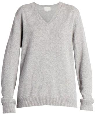 LOULOU STUDIO New Serafini V-Neck Cashmere Sweater
