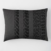 "Vera Wang Pom Pom Ribbon Pillow, 15"" x 20"""