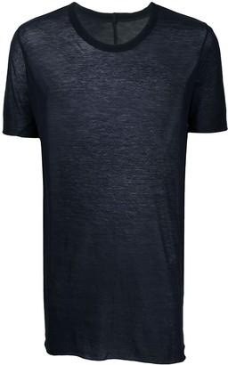 Rick Owens fine-knit short sleeved T-shirt