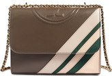 Tory Burch 'Fleming Stripe' Convertible Crossbody Bag