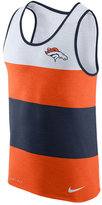 Nike Denver Broncos NFL Men's Wide Stripe Tank