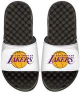 ISlide NBA Los Angeles Lakers Primary Slide Sandal, White