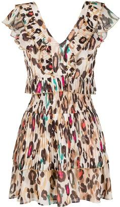 Liu Jo Leopard Print Mini Dress