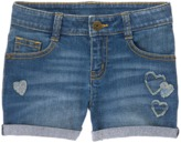 Crazy 8 Heart Patch Jean Shorts