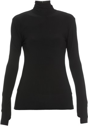 Norma Kamali High Neckline Sweater