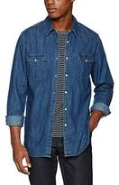 Mustang Men's Denim Hemd Casual Shirt,XL