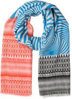Matthew Williamson Printed Wool Scarf
