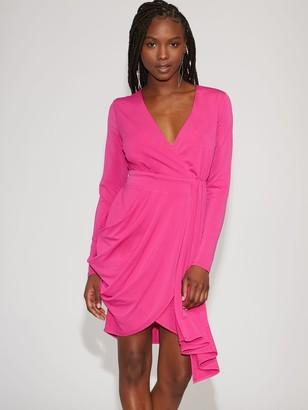 New York & Co. Pink Draped Sheath Dress - Gabrielle Union Collection