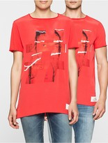 Calvin Klein Hashtag Relaxed Fit Unisex T-Shirt