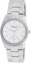 Kenneth Cole New York Women's KC4722 Analog Grey Mother-Of-Pearl Dial Watch