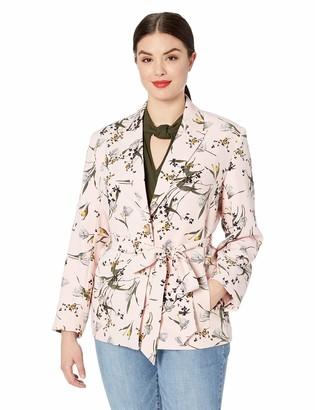 Rachel Roy Women's Plus Size Calli Tie Waist Blazer