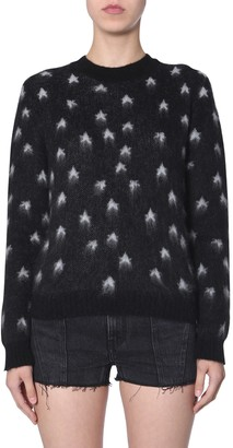 Saint Laurent Sweater In Mohair