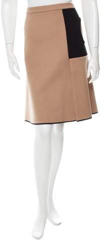 Derek Lam Cutout Wool Skirt w/ Tags