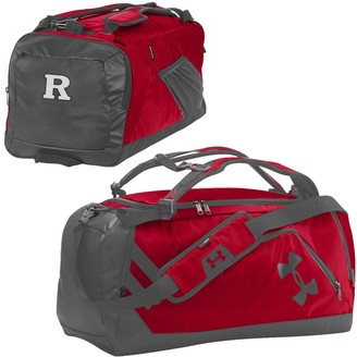 Under Armour Red/Graphite Rutgers Scarlet Knights Good Performance Backpack Duffel Bag