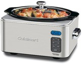 Cuisinart 6.5 Qt. Electric Slow Cooker - Stainless Steel PSC-650