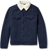 Loro Piana - Faux Shearling-lined Virgin Wool And Cashmere-blend Jacket