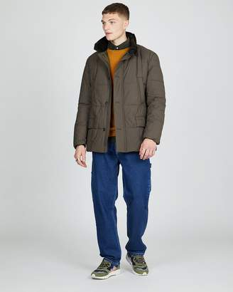 Barbour Yaxley Quilted Jacket Burnt Sepia